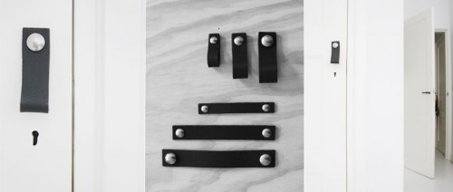handle-op-deur-zwart