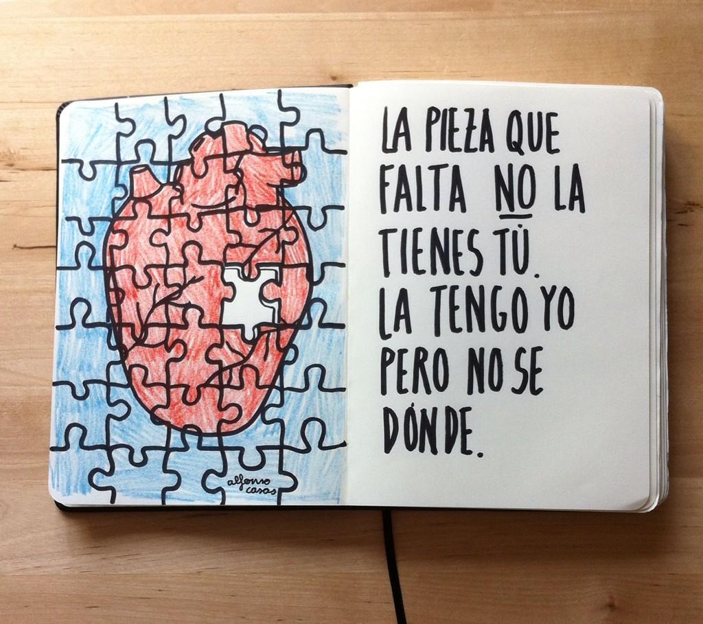 Alfonso Casas y el amor