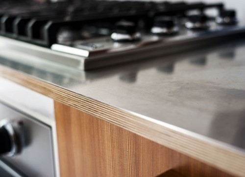Brooklyn-town-house-remodel-stainless-kitchen-counter-detail-Fernlund-and-Logan-Remodelista