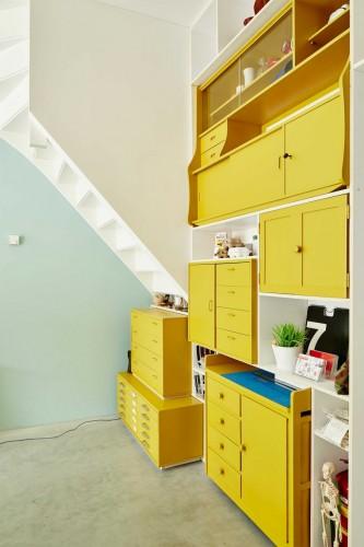 7-kastjes-geel