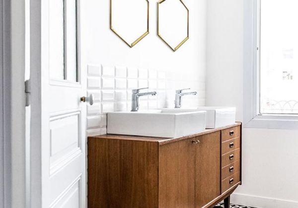 Medidas Baño Adaptado:muebles adaptado al baño, esta vez volado y con dos cajones a medida