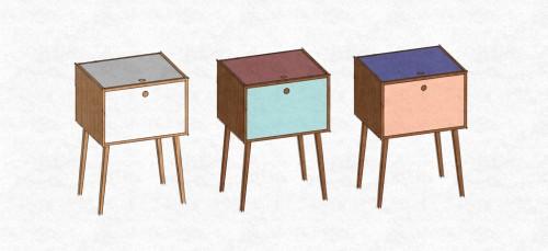 Mueble Bar diseños tintero