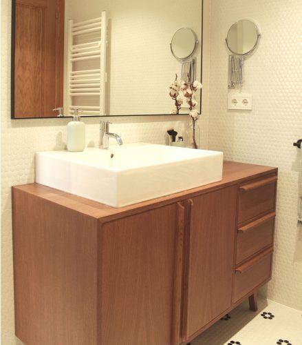 Aparador mueble baño a medida
