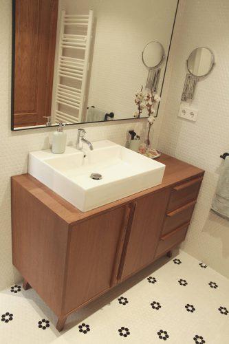Aparador nordico mueble baño