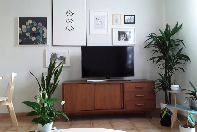 Aparador tv madera