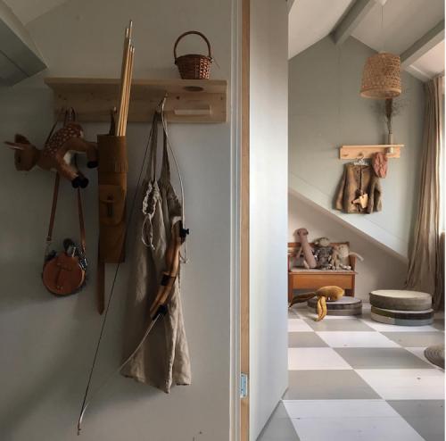 Habitación niña casa Tinta