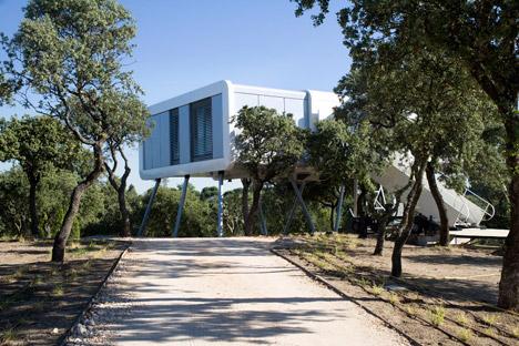 Spaceship-House 1